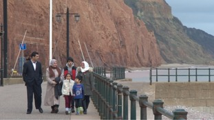 Syrian refugee family thank Sidmouth