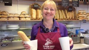 Wendy Baird own Picnic Basket café