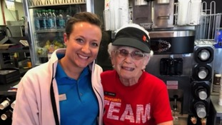 Still lovin' it! 94-year-old McDonald's worker refuses to quit