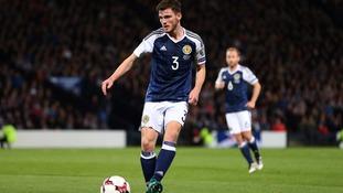 Andrew Robertson of Scotland