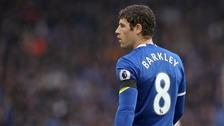 Everton attacking midfielder Ross Barkley