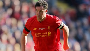 Robbie Fowler at the Liverpool vs Real Madrid legends match