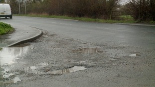 The survey found that the number of potholes filled by councils fell by 19% in England last year.