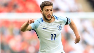 Adam Lallana with England