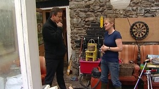 David Cameron visited the town of Buckfastleigh today.