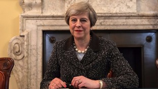 Theresa May begins the process of triggering Brexit.