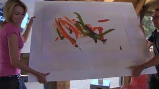 Pigcasso's artwork