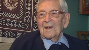 Robert Weighton celebrates his 109th birthday today