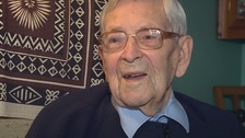 Robert Weighton celebrates his 109th birthday today