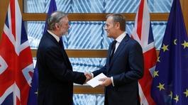 Britain triggers Brexit