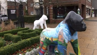 The gorillas will be on display around the city during Summer 2013