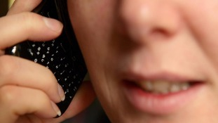 Police are advising people to terminate the call as soon as possible.