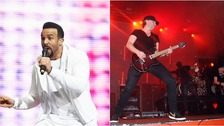 Craig David (left) and Pendulum (right) will both be hoping to wow the crowds in Norwich.