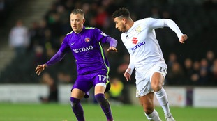 Charlton and MK Dons will go head-to-head next Tuesday.