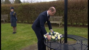 Prince William opens new Remembrance Centre