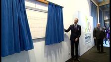 Prince William opens new Remembrance Centre