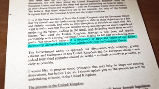Reading between the lines of Britain's historic Brexit letter