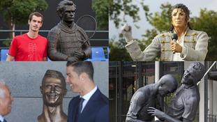 From Cristiano Ronaldo to Michael Jackson: Seven suspect statues