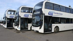 £3.5 million investment in Borders buses