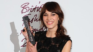 british fashion awards Alexa Chung