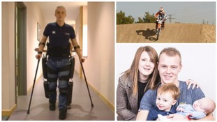 Paralysed bike rider: technology 'lets me live my life'