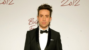 british fashion awards Nick Grimshaw
