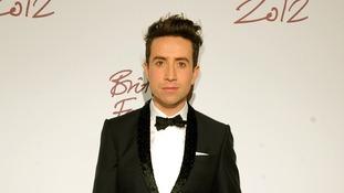 british fashion awards Nick Grimshaw