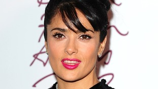 british fashion awards Salma Hayek