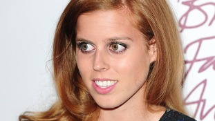 british fashion awards Princess Beatrice
