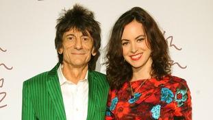 british fashion awards Ronnie Wood