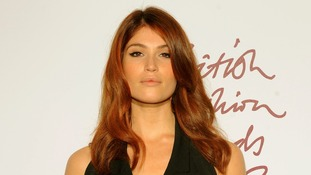 british fashion awards Gemma Arterton