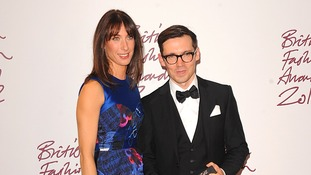 british fashion awards Samantha Cameron