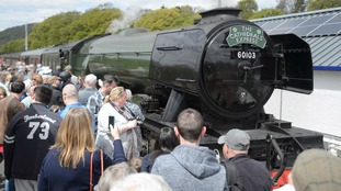 Flying Scotsman marks Settle to Carlisle line reopening