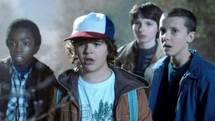 Fantasy Sci-Fi drama 'Stranger Things' proved to be one of the most popular shows on Netflix for Midlands viewers last year.