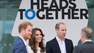 The Duke and Duchess of Cambridge and Prince Harry have released the films.