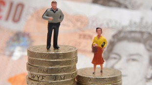 The average gender pay gap is between 13% and 18%, campaigners say.
