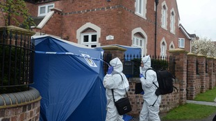 Investigations continue at the house in Stourbridge