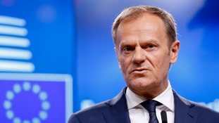 European Council president Donald Tusk insists the 27 member states are united ahead of the exit talks with the UK.