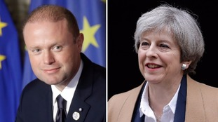 Maltese PM throws May a lifeline with Brexit trade admission