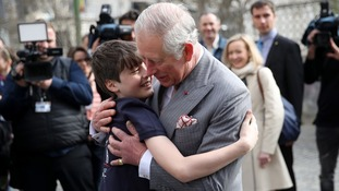 The 11-year-old has met the Prince before.