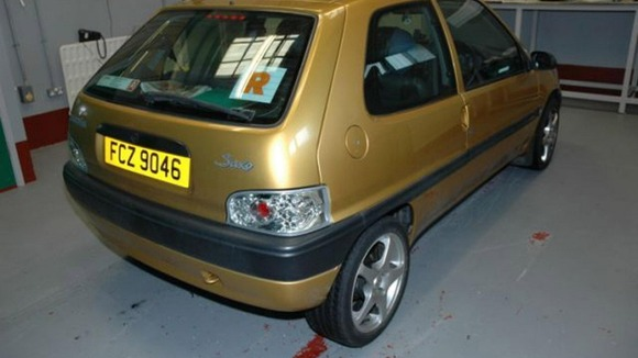 The Citroen Saxo owned