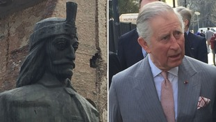 Prince Charles is related to Vlad through his great-grandmother Queen Mary of Teck.