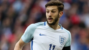 Adam Lallana of England and Liverpool