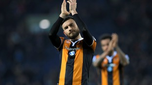 Robert Snodgrass applauds Hull fans