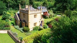 Miniature 'castle' goes on sale in Warwickshire