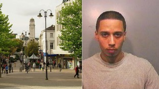 Jean-Pierre Bailey stabbed his victim in Luton town centre.