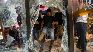 Clashes break out in Paraguay over presidential re-election vote