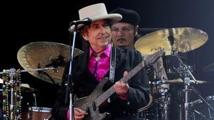 Bob Dylan receives Nobel Prize at small gathering in Sweden