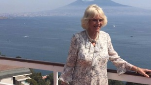 Duchess of Cornwall in the Bay of Naple