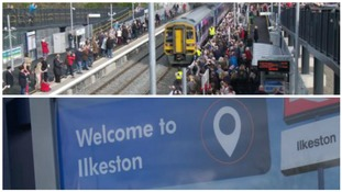 Hundreds welcome new railway station after 50 years of going without one